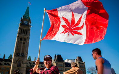DA OGGI LA CANNABIS IN CANADA E' LEGALE