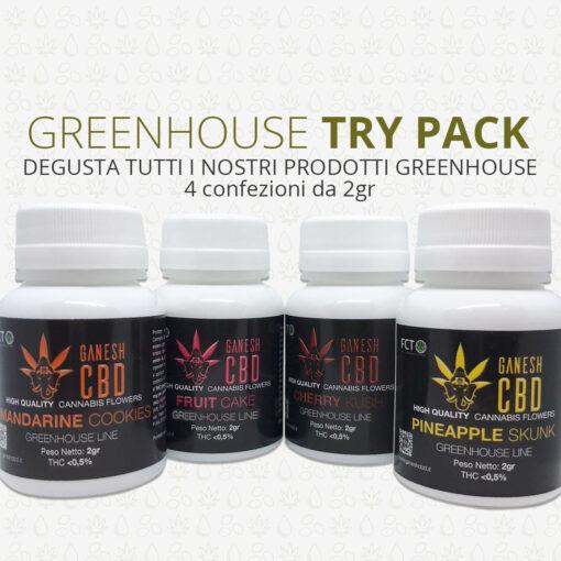 degustazione cannabis legale greenhouse ganesh cbd offerta